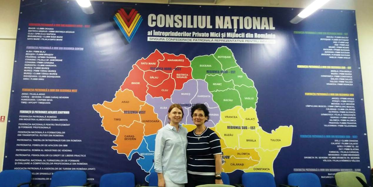 FSEA visited the National Council of SME's from Romania