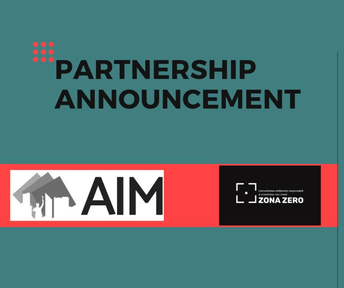 AIM și Zona Zero au semnat un memorandum de colaborare în domeniul anticorupției