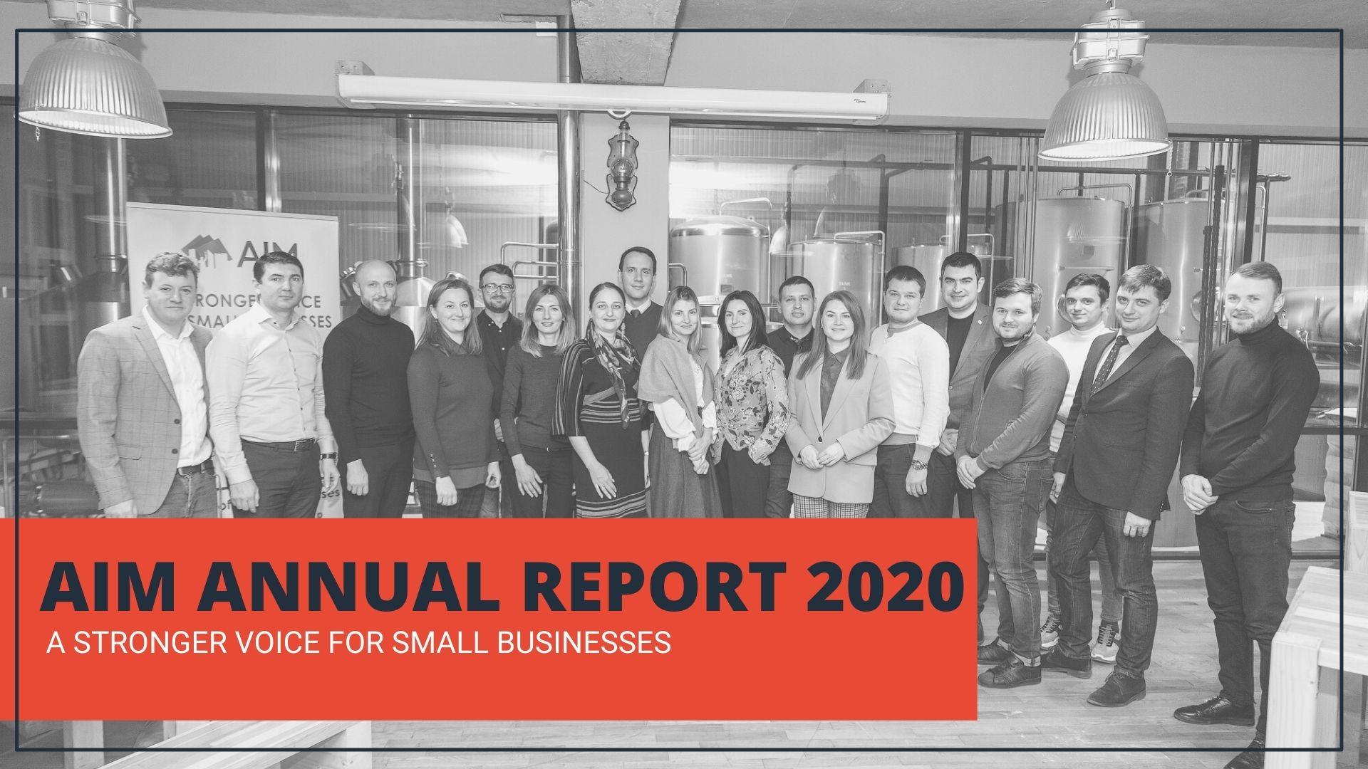 AIM și-a prezentat Raportul anual de activitate pentru 2020